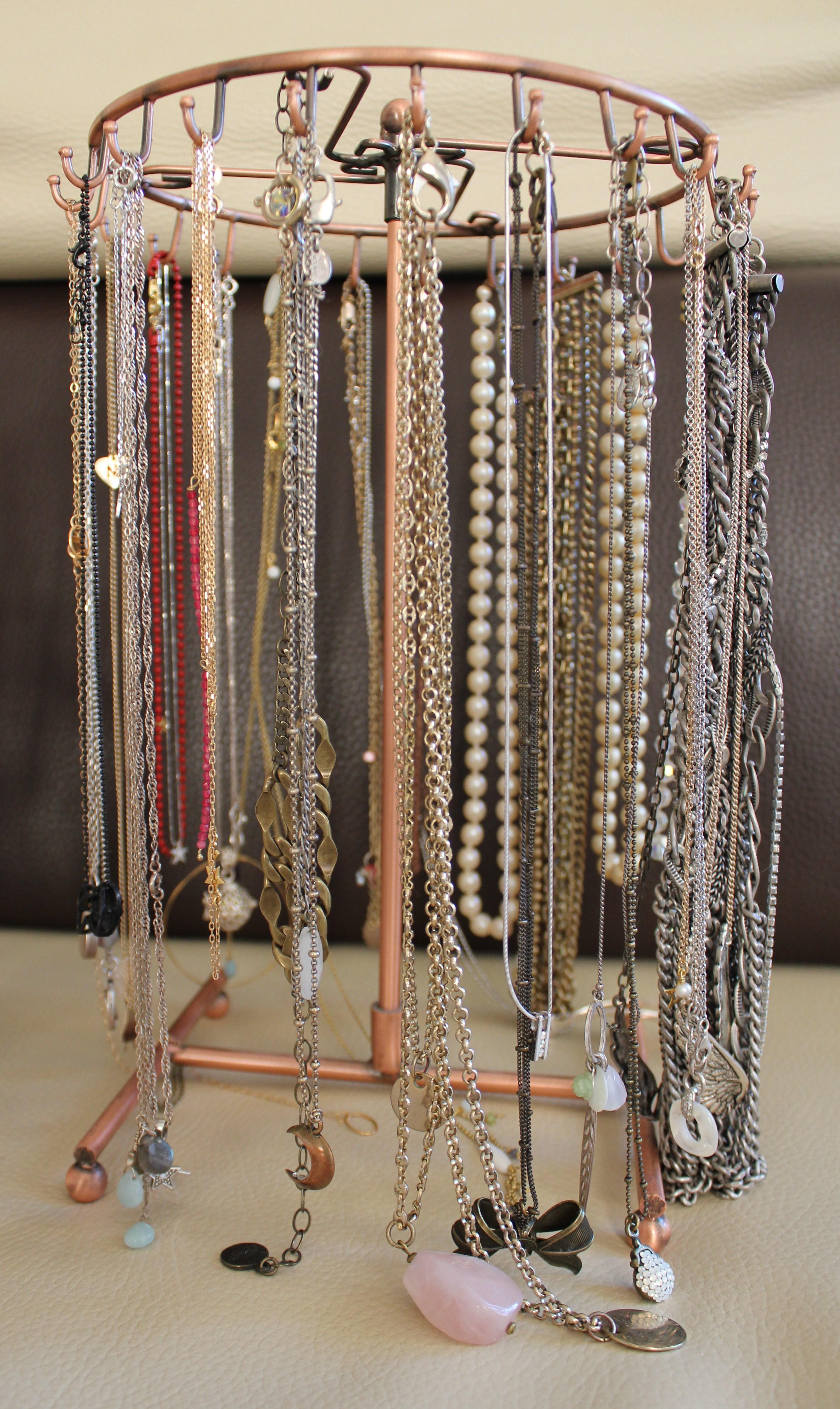 Les bijoux une parenth se mode - Porte bijoux mural a faire soi meme ...