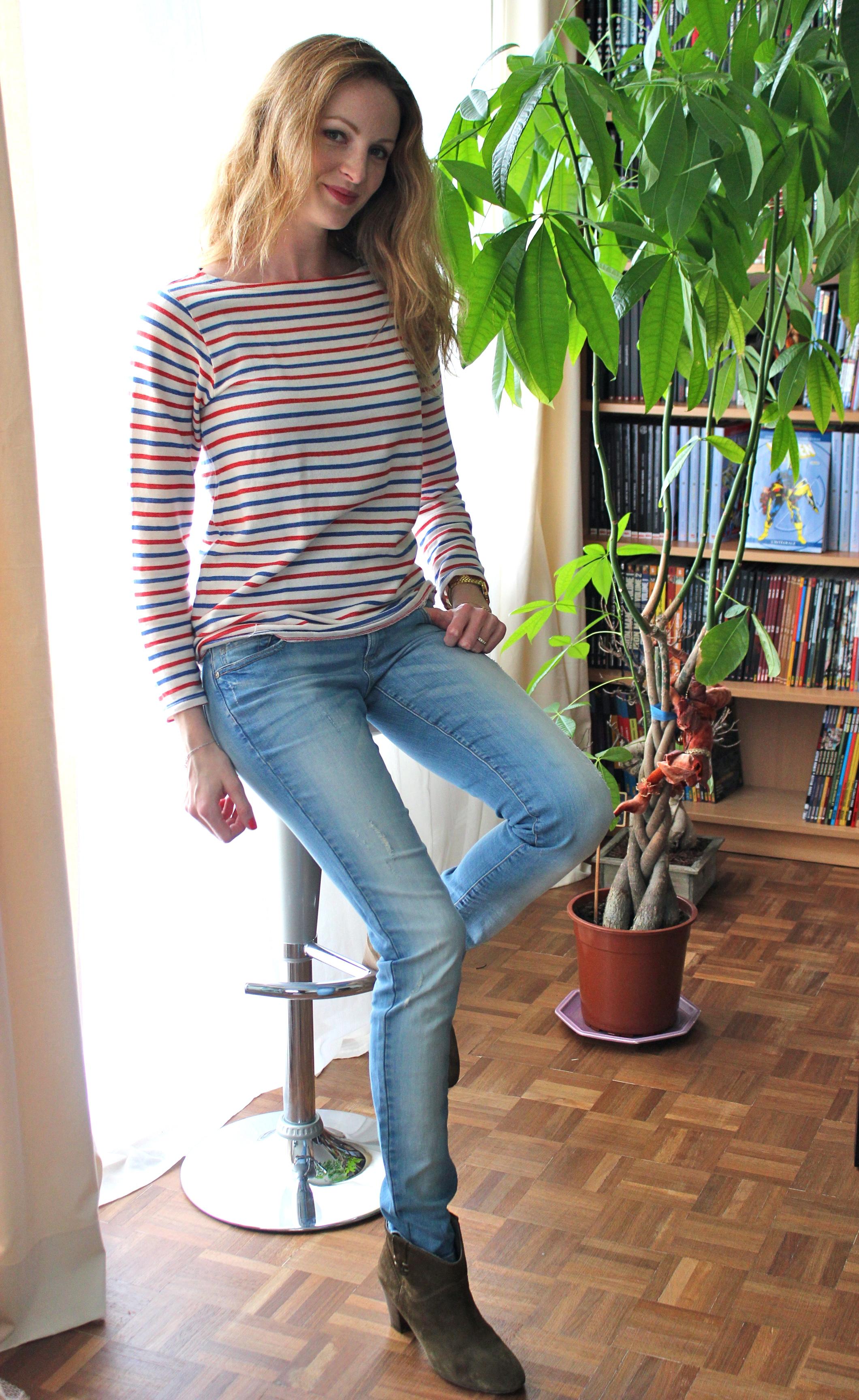 Que mettre avec un jean clair - Que mettre avec un jean bleu ...
